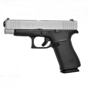 GLOCK G48 Silver slide Compact - 9 mm Luger