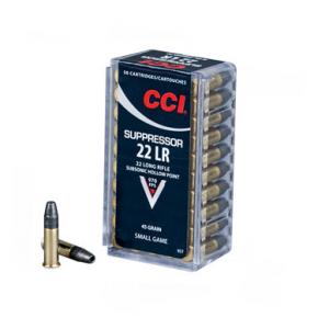 CCI Suppressor .22 LR - 45 GR