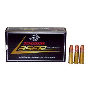 Winchester LASER .22LR, HP - 37,5 GR