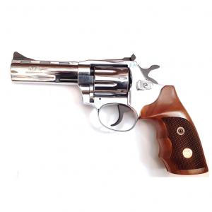 "ALFA PROJ Револвер 341, 22 WMR + 22 LR, Wood Chrome, 4"""