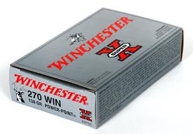 Winchester 270WIN SUPER-X 130GR POWER POINT 20