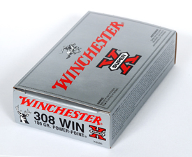Winchester 308WIN SUPER-X 180GR POWER POINT 20