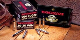 Winchester 270WSM SUPREME 150GR BALLSILTIP 20