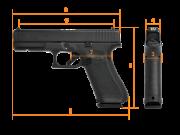 GLOCK G17, Gen.5 MOS, Standard, кал. 9 mm Luger