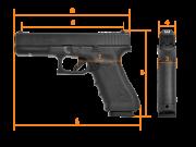 GLOCK G17, Gen.4,  FS, Standard, кал. 9 mm Luger