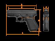 GLOCK G19 Gen.3, RTF2, Compact, кал. 9 mm Luger