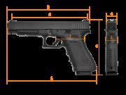 GLOCK G34 Gen.4, Competition, кал. 9 mm Luger