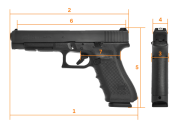 GLOCK  G35 Gen4 Competition | 40 S&W