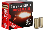 Geco 9 mm KNALL SUPER FLASH Халосни патрони